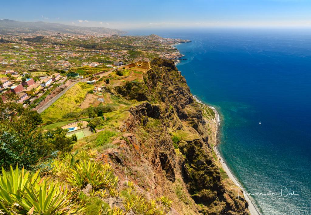 Het uitzicht bij Cabo Girão